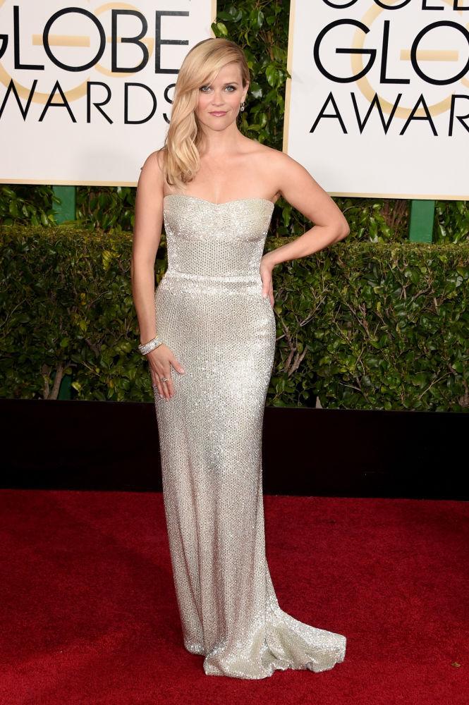 Reese Witherspoon veste Calvin Klein (Foto: Reprodução/Fashionista)