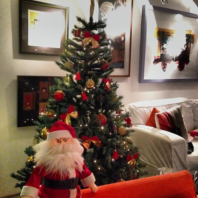 A árvore de Natal de Regina Duarte