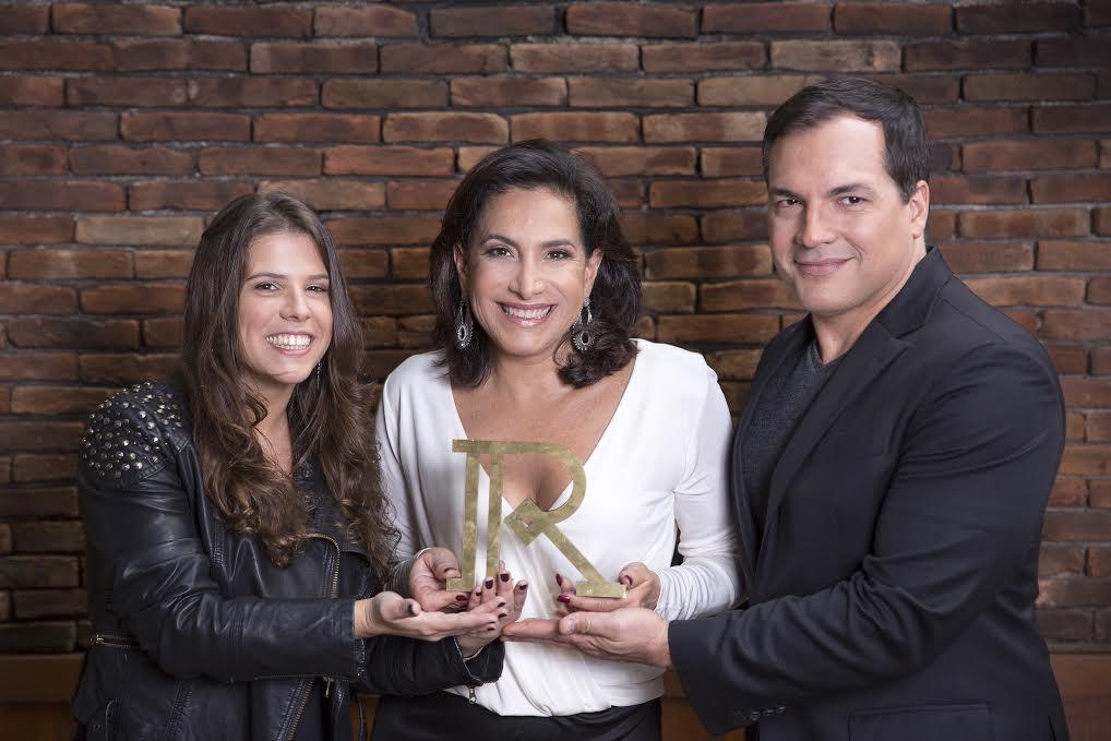 Antonia Prado, Totia Meireles e Daniel Boaventura: idealizadora e apresentadores do prêmio que une Rio e São Paulo na mesma lista