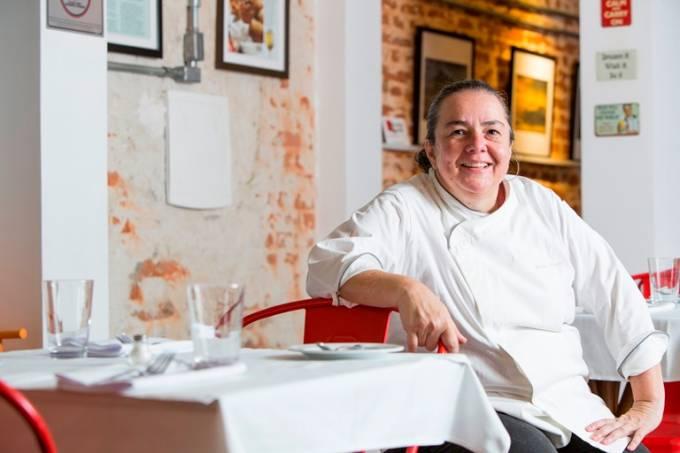 Renata: sonho de ter o próprio restaurante encerrado em pouco mais de um ano (Foto: Ricardo d'Angelo)