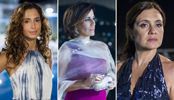 Regina (Camila Pitanga), Beatriz (Glória Pires) e Inês (Adriana Esteves) vão mostrar que têm muita ambição. E você, qual é a sua?