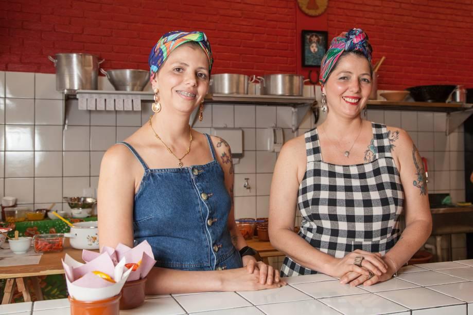 As irmãs baianas Miri e Fátima de Castro: aprenderam a receita pela internet
