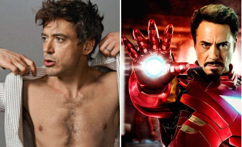 Robert Downey Jr. virou o Homem de Ferro