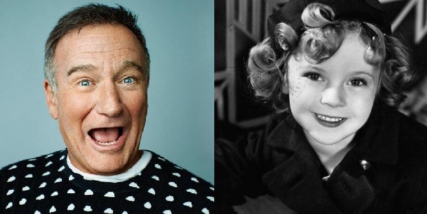 Robin Williams e Shirley Temple nos deixaram em 2014