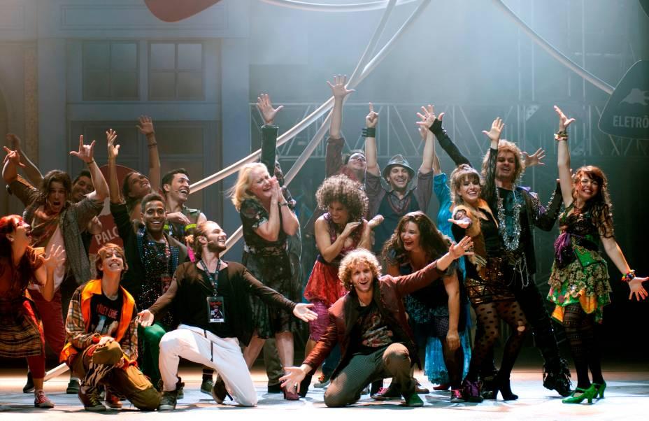 Cena de Rock In Rio - O Musical