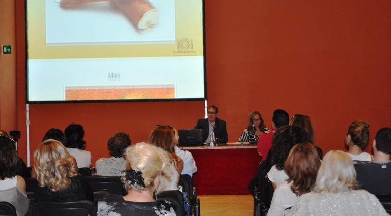 Conferência em Roma: público italiano interessante na cozinha do Brasil (Fotos: Aloisio Pinto)
