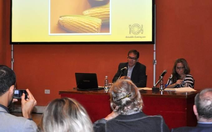 Apresentação na Sala Ospiti a convite da Embaixada do Brasil: destinada a palestras no Auditorium Parco della Musica