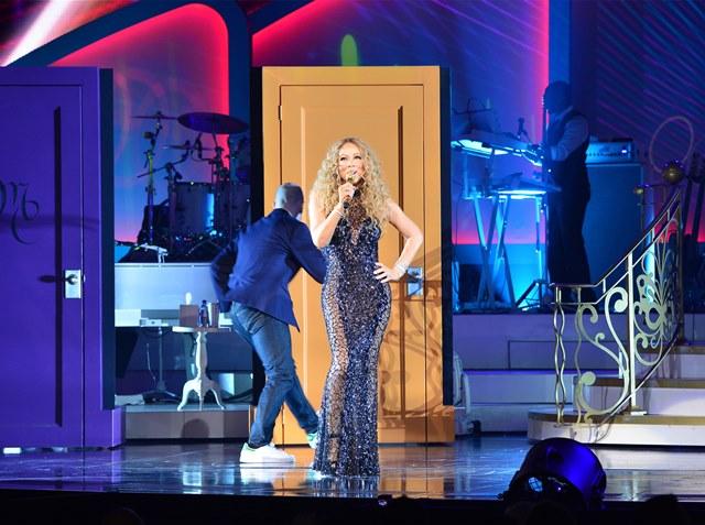 Mariah Carey: show em fevereiro deste ano (Foto: Denise Truscello)