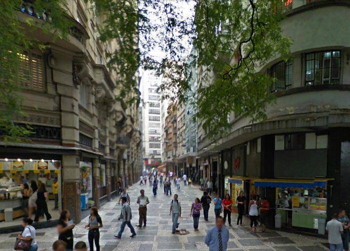 Rua Barão de Paranapiacaba