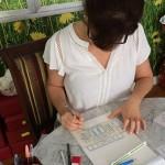 Dahoui: o desenho do novo Ruella feito por ela mesma