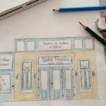 Estudo para a fachada