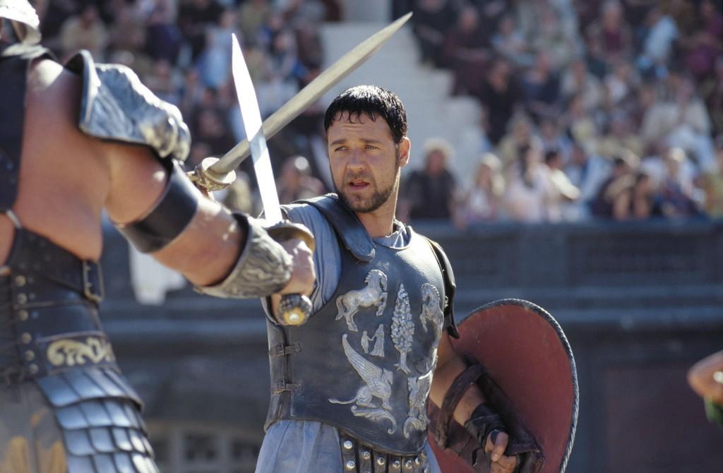 Gladiador (2000): na arena do diretor Ridley Scott, levou o Oscar de melhor ator