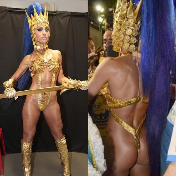 Sabrina Sato prova que está com o corpo em dia (Foto: Reprodução/Instagram)