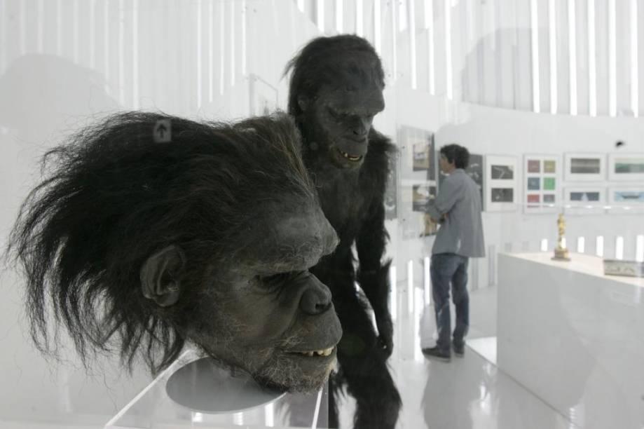2001: Uma Odisseia no Espaço - figurino do macaco