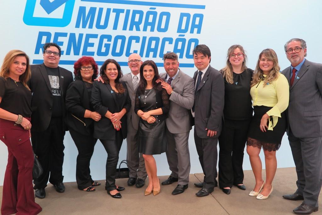 Integrantes do SINDIBELEZA foram até Brasília para incentivar a aprovação da PL (Foto: Divulgação)