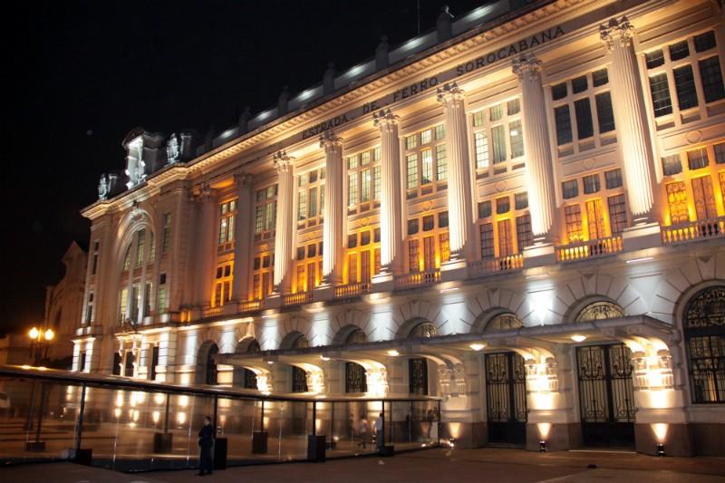 Edifício abrigou a antiga estação da Estrada de Ferro Sorocabana