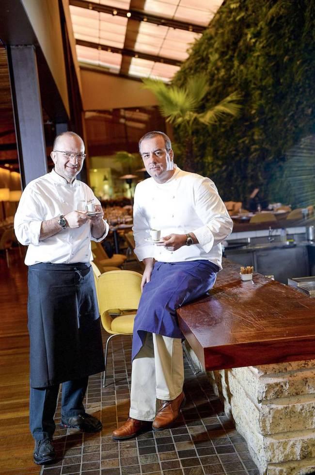 Chefs Salvatore Loi e Paulo Barros