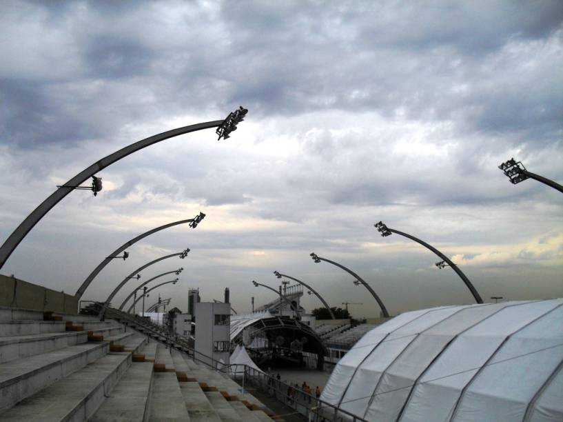 Sambódromo do Anhembi: obra de Oscar Niemeyer