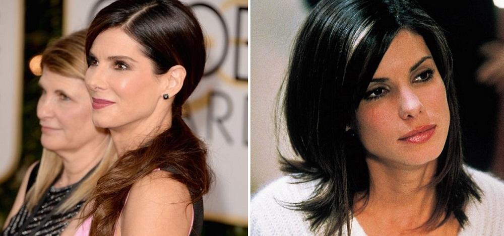 Sandra Bullock - Antes e Depois