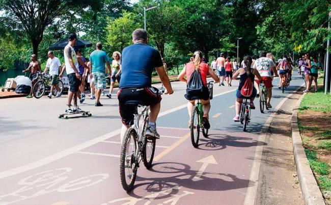 Parque do Ibirapuera Atletas