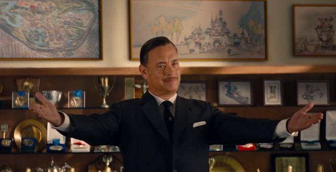 Tom Hanks interpreta Walt Disney