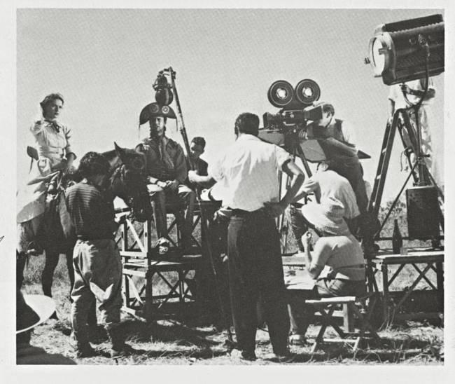 Cena de O Cangaceiro, de 1953