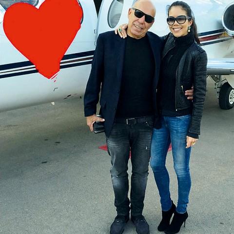 Amilcare Dallevo Jr. e Daniela Albuquerque: regime do samba (Foto: Reprodução/Instagram)