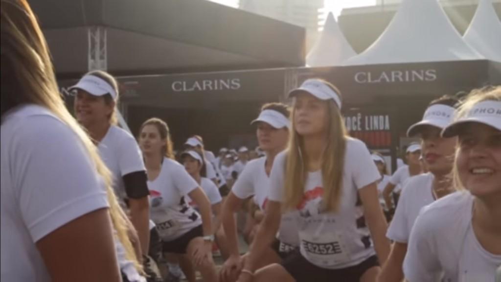 Sephora Beauty Run: aquecimento para edição paulistana em 2015 (Foto: Reprodução)