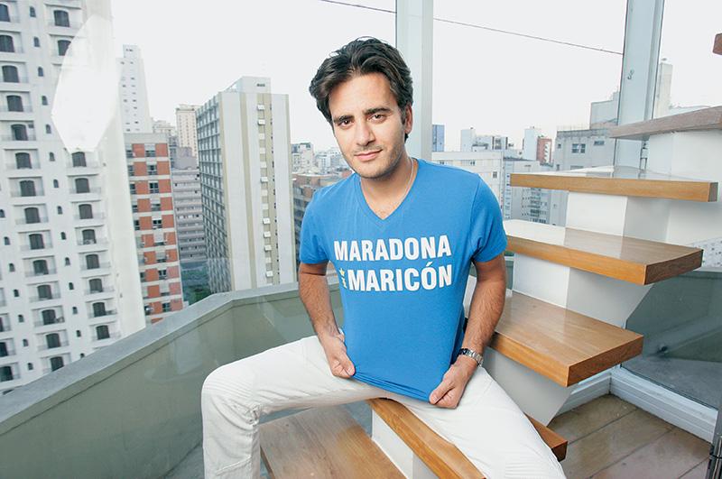 Sergio: edição limitada de linha de camisetas sobre futebol
