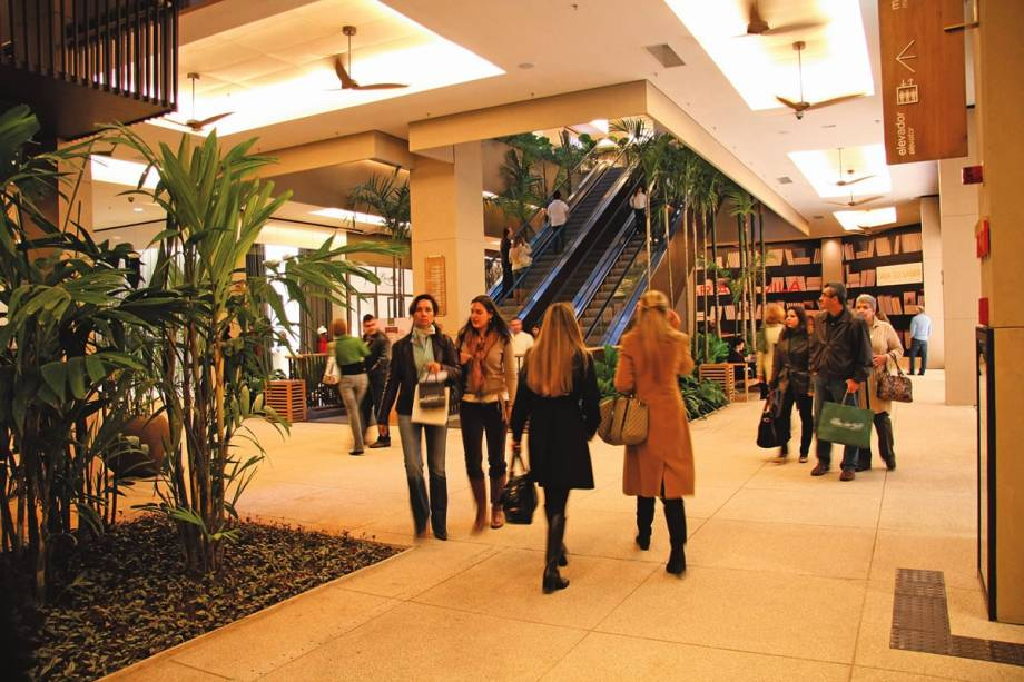 Shopping Cidade Jardim: prédio sofisticado no Morumbi