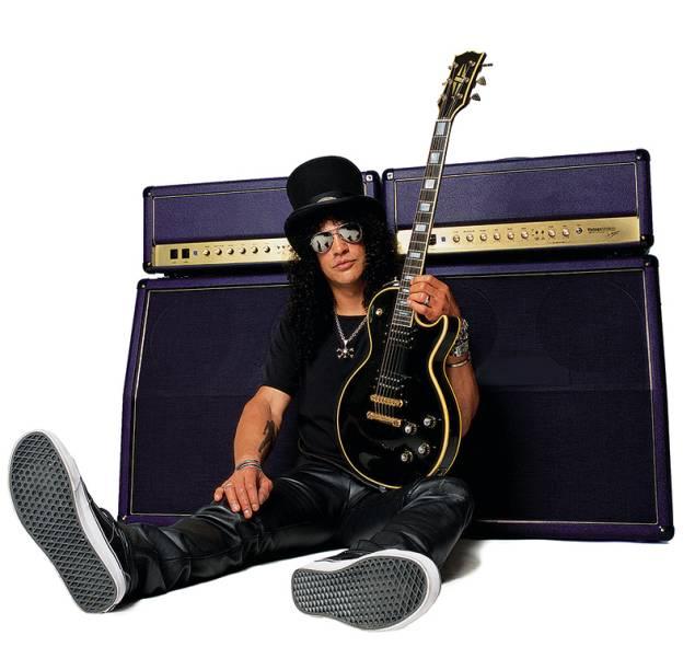 Slash: o guitarrista executa músicas da carreira-solo e clássicos de seu antigo grupo, o Guns N'Roses