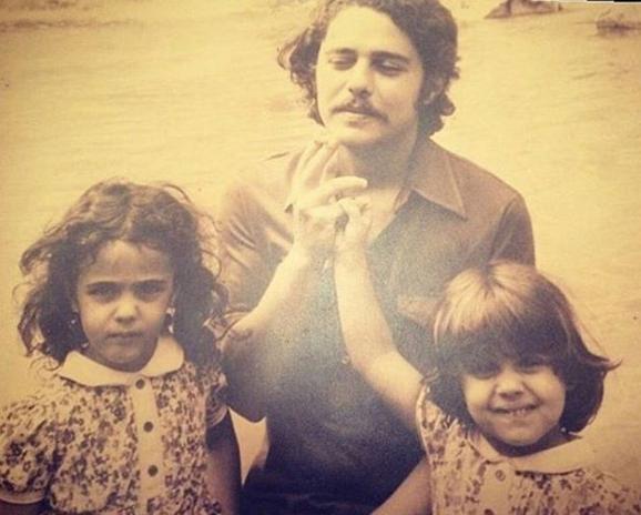 Silvia, Chico Buarque e Helena: comentário de Pedrosa foi feito após ver esta fotografia (Foto: Reprodução/Instagram)