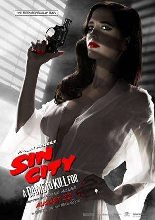 Sin City Eva Green poster