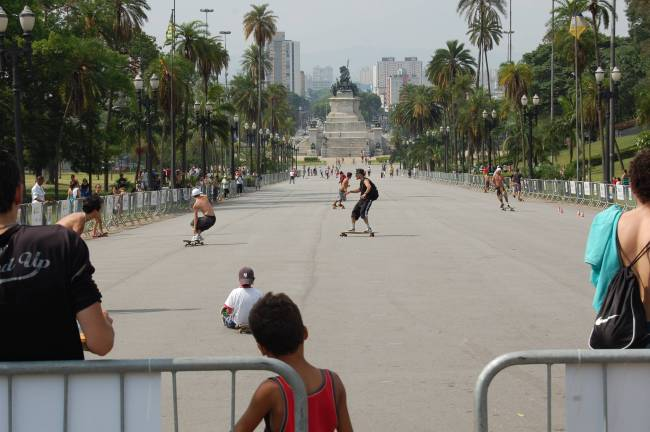 Virada Esportiva Skate downhill - Parque da Independência