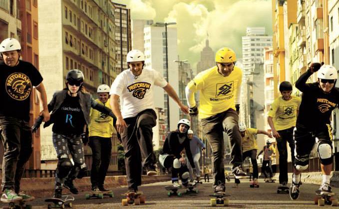 A Skate Run é um corrida de skate que ocorre pela primeira vez na cidade