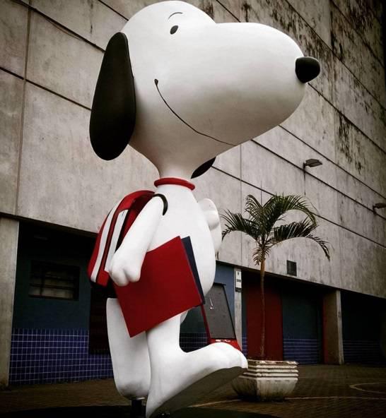 Snoopy no Butantã