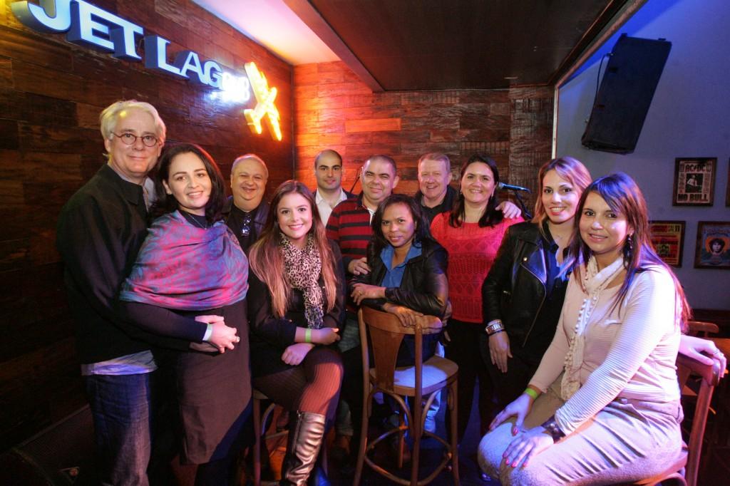 O grupo reunido. FOTO: Fernando Moraes
