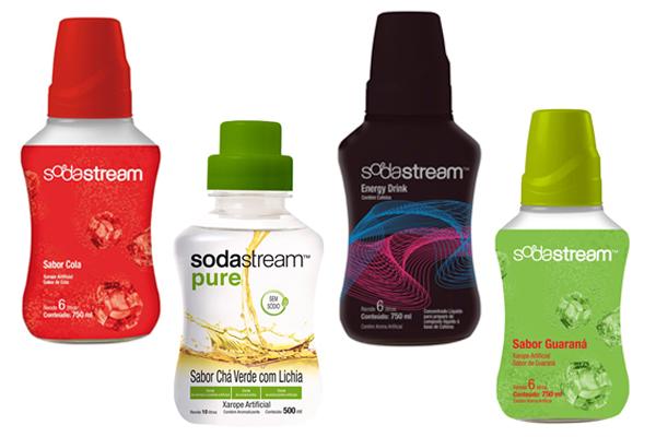 SodaStream-xaropes