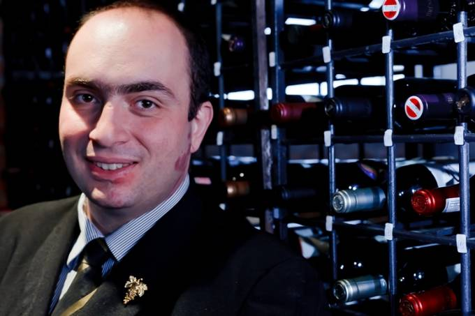 Sommelier Diego Arrebola