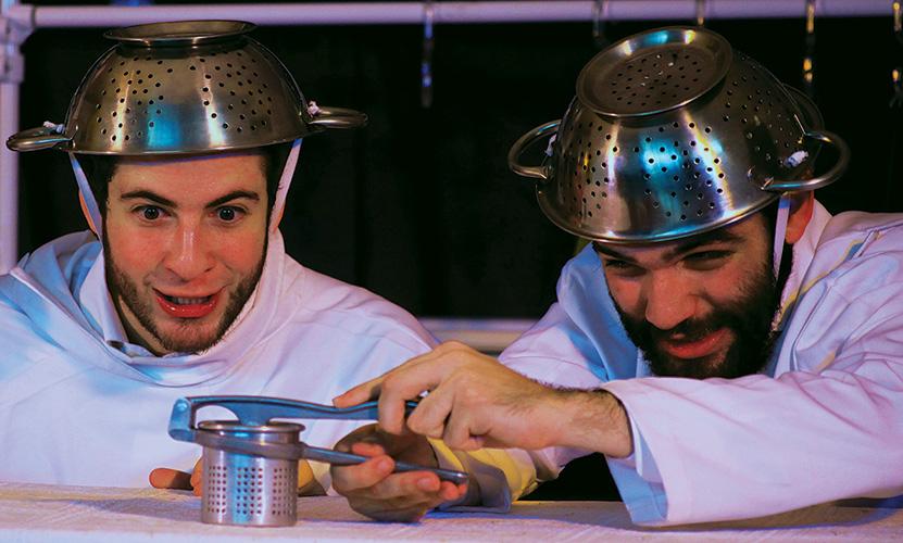 Gabriel Sitchin e Hugo Reis em Sonhatório