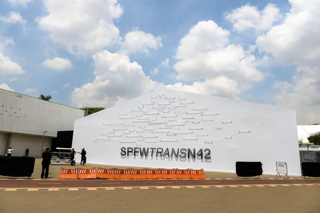 Vista geral da edição 42ª  da São Paulo Fashion Week