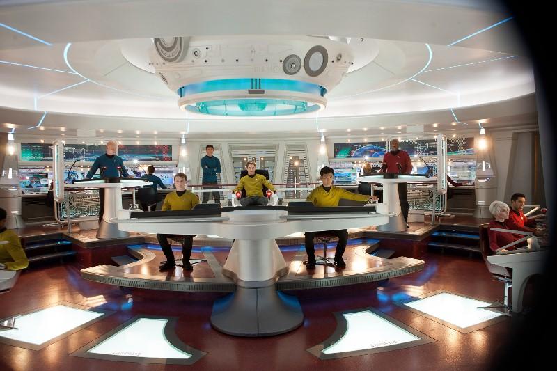 Além da Escuridão - Star Trek: a equipe da nave Enterprise