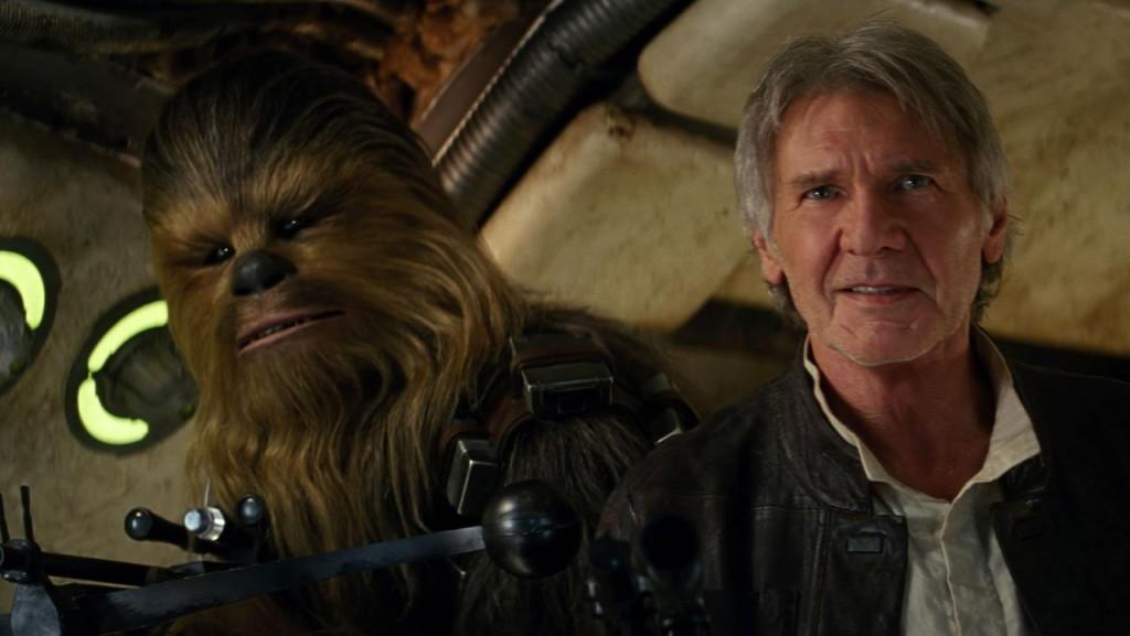 Eles voltaram com tudo em Star Wars - O Despertar da Força
