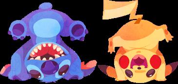 stitch-e-pikachu
