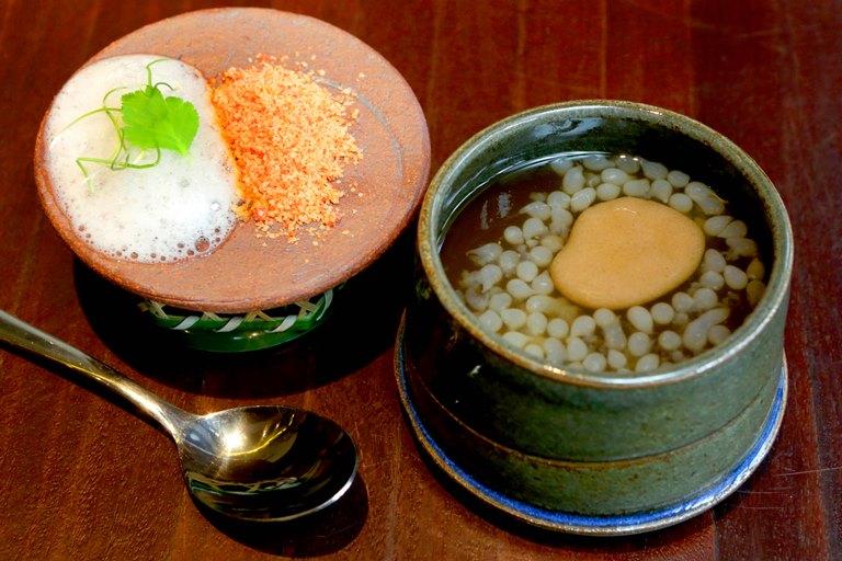 Muro: kenchinjiru sopa vegetariana budista