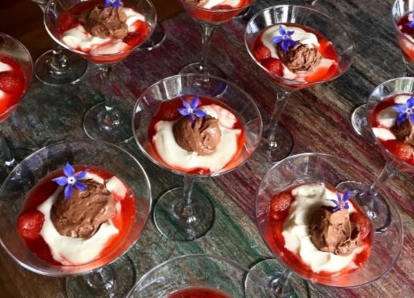 Mais uma versão gelada, agora na taça; no menu executivo do House Café & Bistrô: coisa fina (Foto: Divulgação)