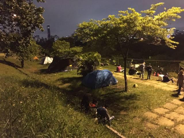 Praça do Pôr do Sol - Superlua