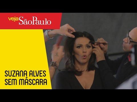 Suzana Alves, sem máscara