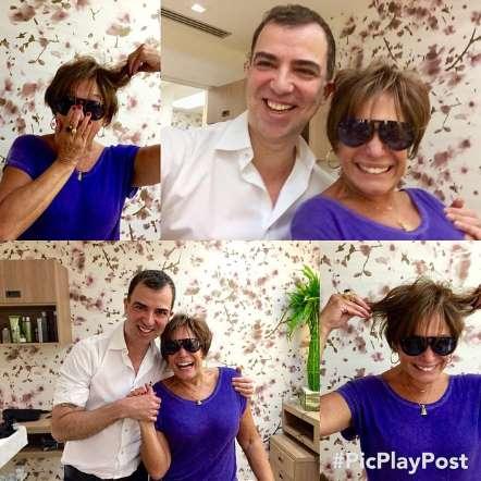 Marcos Aguiar, cabeleireiro responsável pelo novo look de Suzana Vieira (Foto: Reprodução/Instagram)