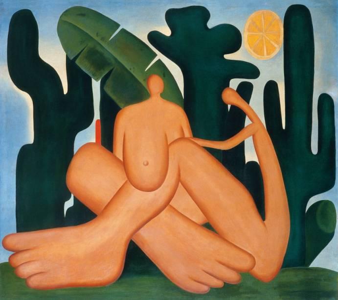 Antropofagia (1929), de Tarsila do Amaral
